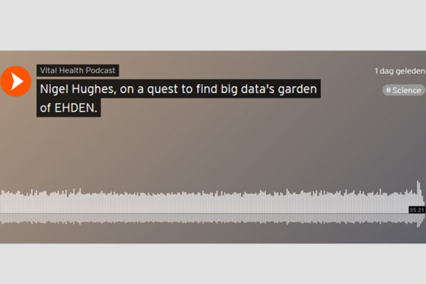Podcast – 'Nigel  Hughes, on a quest to find big data's