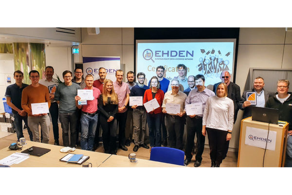 EHDEN certifies the next 6 SMEs.