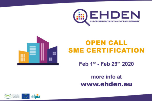 The EHDEN Consortium launches a second open call for SMEs.