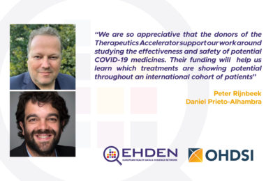 OHDSI and EHDEN Partners Obtain Grant Towards Global Research On COVID-19 Treatments