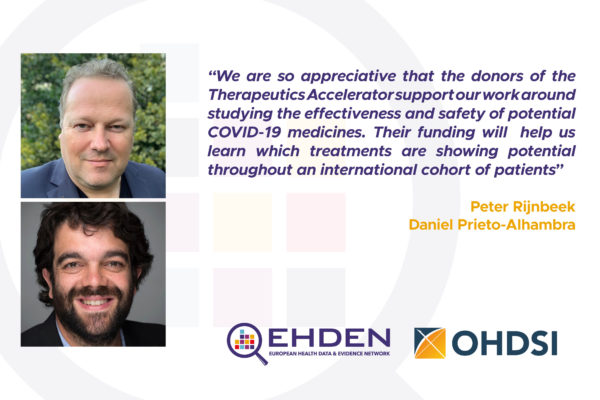 OHDSI and EHDEN Partners Obtain Grant Towards Global Research On COVID-19
