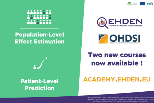 Two new academy courses are now available covering Patient-level Prediction and Population-level Effect Estimation!