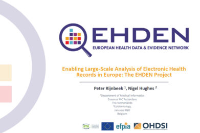 OHDSI community call features EHDEN