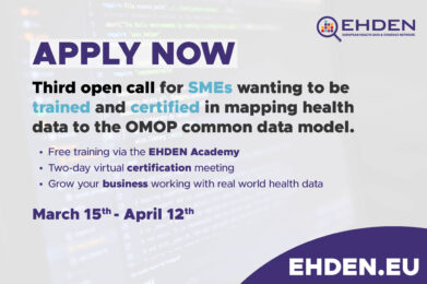 EHDEN launches the 3rd open call for SMEs