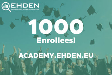 EHDEN Academy Marks One-Year Anniversary with 1,000th Enrollee